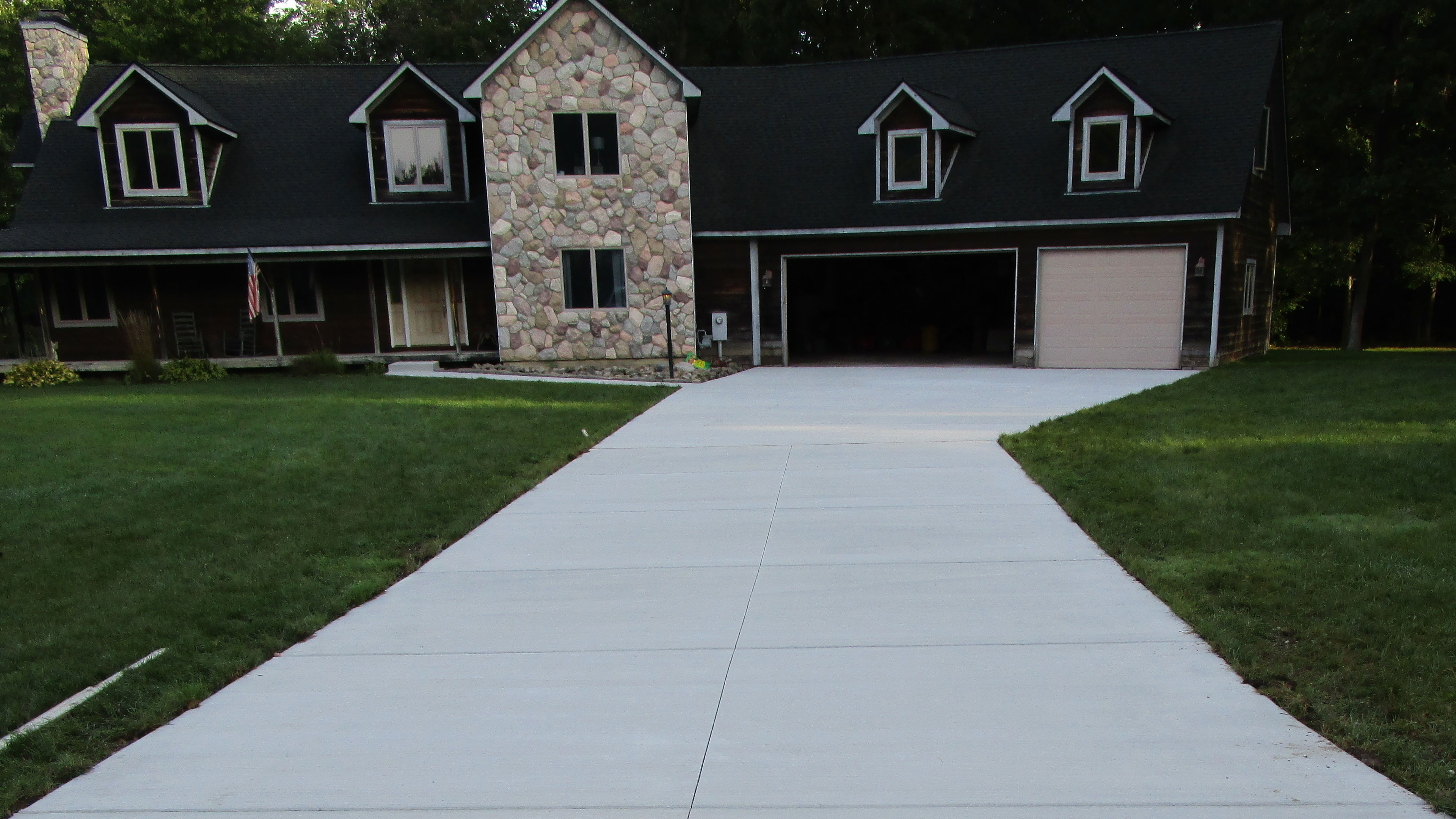 Landscaping Marcucci Michigan Concrete Contractors