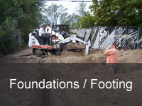 foundations / footing